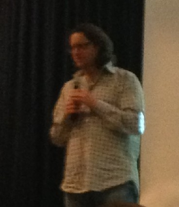 Photo: Brad Feld came to the NJ Tech Meetup to discuss Startup Communities. Photo Credit: Marilyn Moux