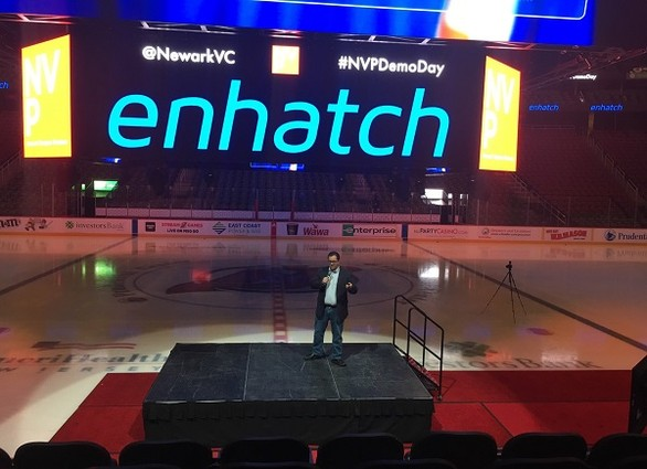 Photo: Peter Verrillo, founder and CEO of Enhatch Photo Credit: Esther Surden