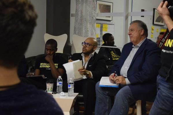 Photo: Judges at Lean Startup Machine Newark Photo Credit: Todd Nakamura