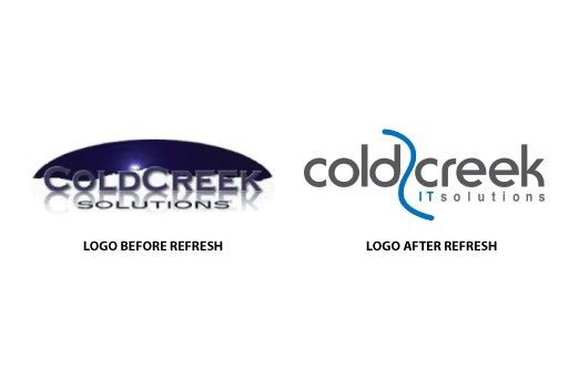 Photo: Logos before and after Photo Credit: Leadarati