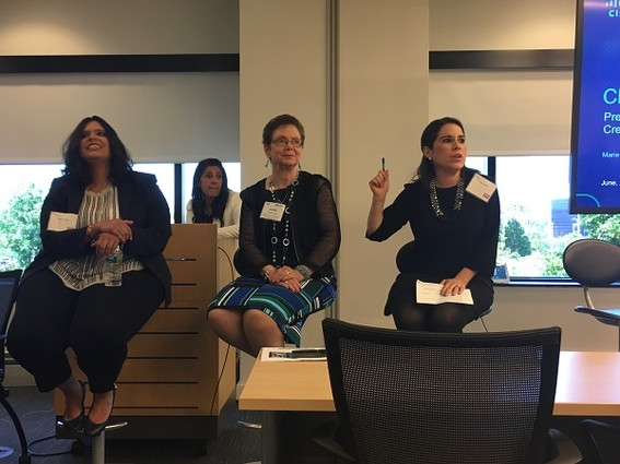 Photo: There were many panels featuring women in tech and women tech entrepreneurs through the year. Here is a photo from the Million Women Mentors conference in June. The panel was talking about mentoring success stories. Photo Credit: Esther Surden