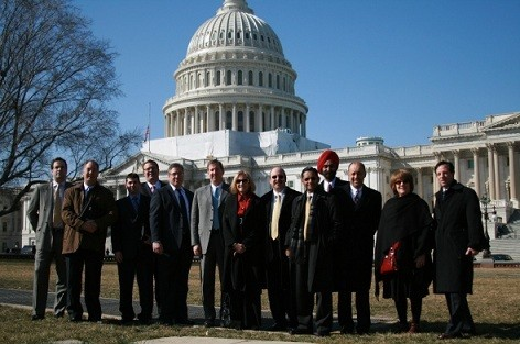 Photo: A photo from last year's tech trek to Washington. NJTC members held meetings with members of Congress. Photo Credit: NJTC