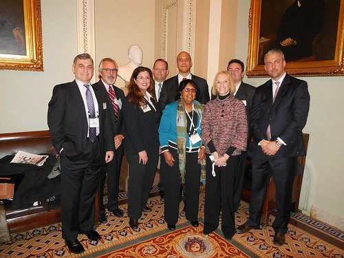 Photo: The NJTC representatives met with Cory Booker. Photo Credit: NJTC