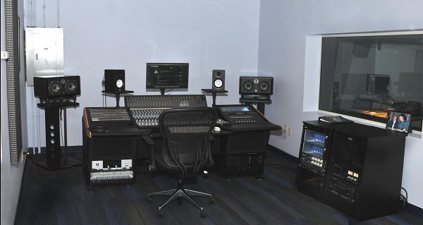 Photo: One of the recording rooms at the Les Paul Studio at Ramapo College Photo Credit: Chris Lentz