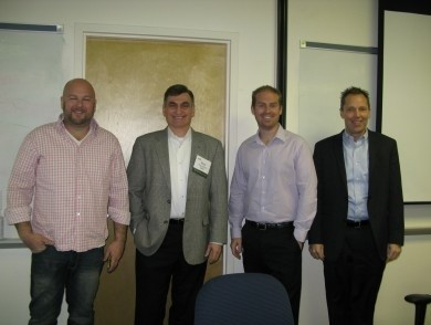 Photo: Panelists from the NJTC gamification summit Photo Credit: NJTC