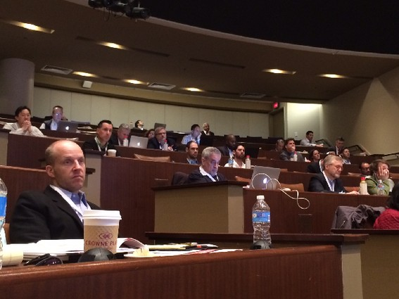 Photo: Audience at the Digital Health Innovation in Context conference.  Photo Credit: Esther Surden