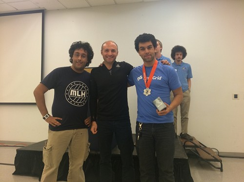 Photo: 2nd Place: Bitcloud - A Bitcoin mining program that uses cloud resources to obtain and send Bitcoin Photo Credit: Brendan Kaplan