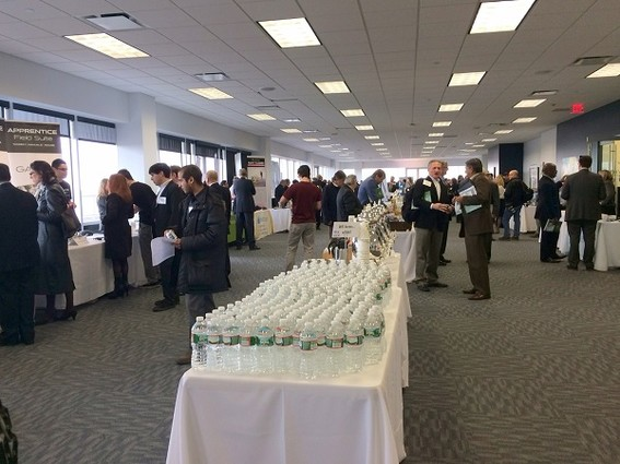 Photo: The show floor at the NJTC Venture Conference Photo Credit: Esther Surden