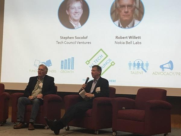 Robert Willett of Bell Labs and Steve Socolof of Tech Council Ventures