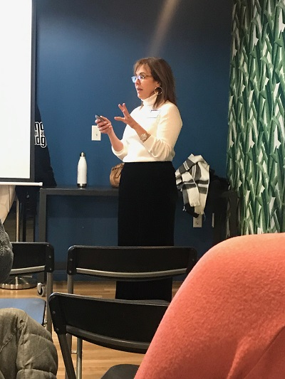 Anita O'Malley at Jersey Shore women in Tech
