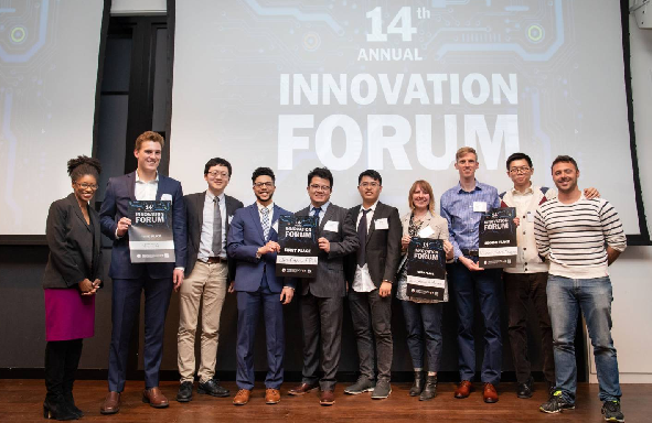 Winners of Innovation Forum event