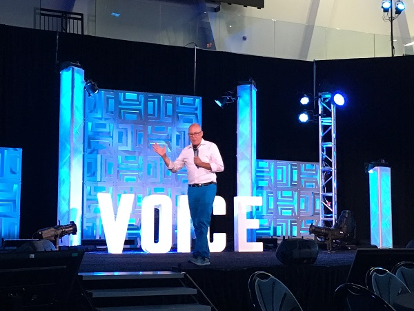 Pete Erickson at 2018 Voice Summit