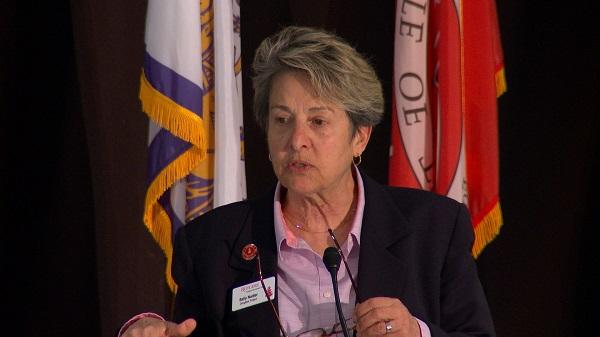 Sally Nadler speaking at the Murray Center event
