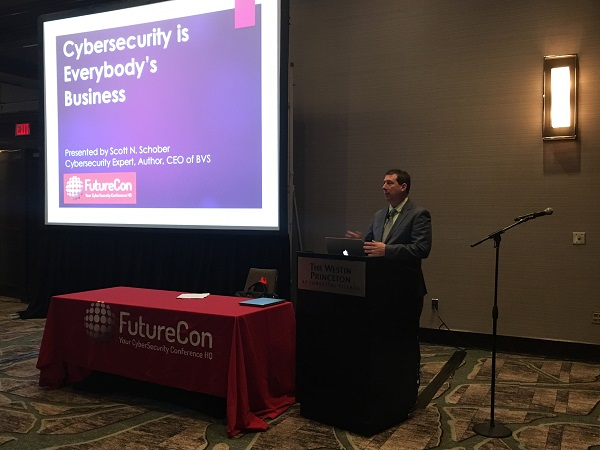 Photo of Scott Schober at FutureCon