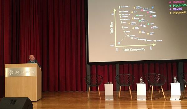 Chris White speaking at NJTC Future Forum