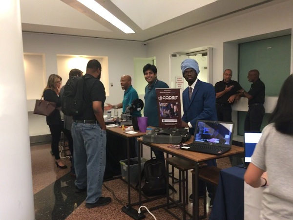 Networking at Newark Tech Week