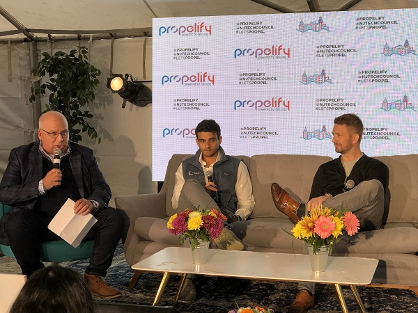 blockchain panel at Propelify