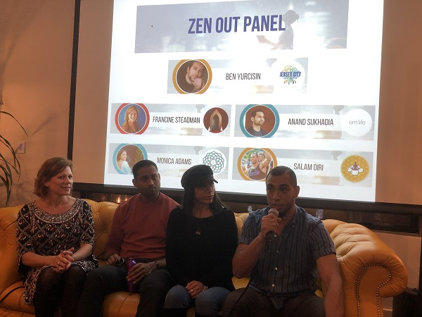 Jersey City Tech Meetup panel for the Zen Out meeting
