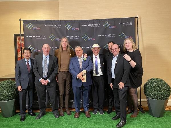 Phone.com team at Awards Celebration