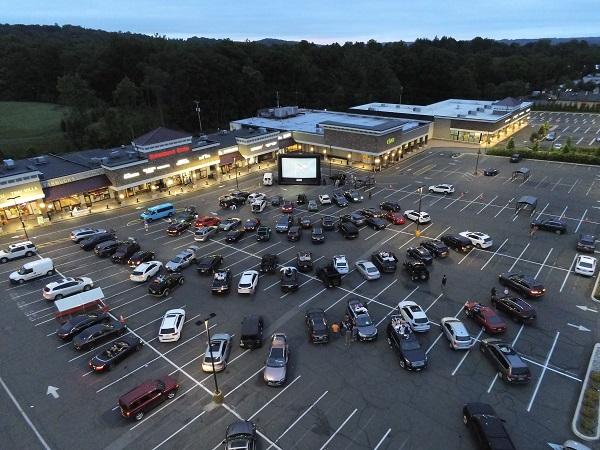 Boxcar movie night
