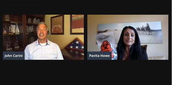 John Carini interviews Pavita Howe