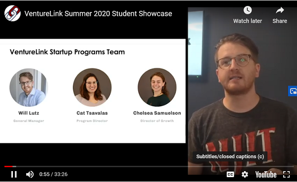 The VentureLink Startup Program team