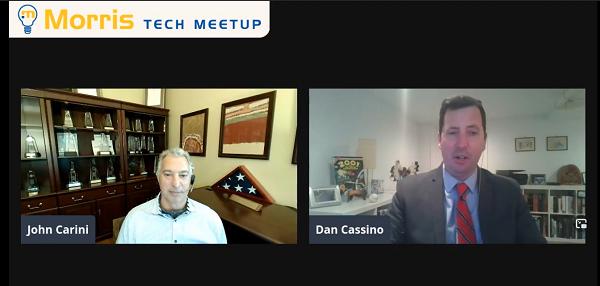 Dan Cassino with John Carini
