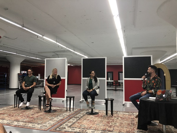 The Jersey City Tech Meetup paid advertising panel.